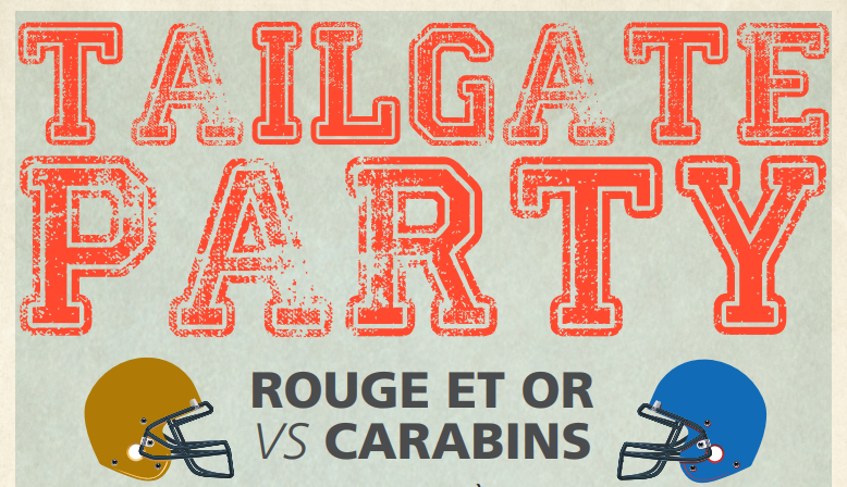Tailgate Party du Rouge et Or