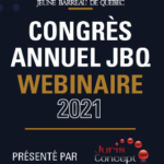 Congrès annuel JBQ - Webinaire 2021